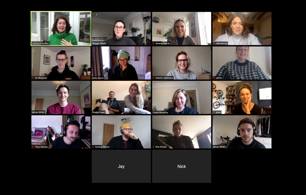 Gather Round virtual Campfire Talk with Louisa Chudley from Spark Social