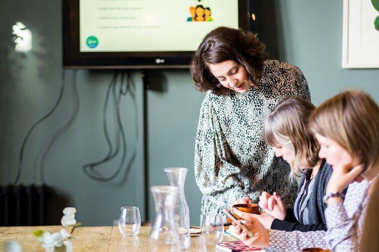 Louisa Chudley, Spark Social workshop
