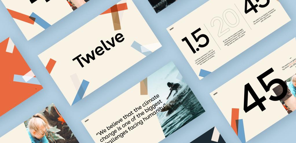Twelve branding by Fiasco Design