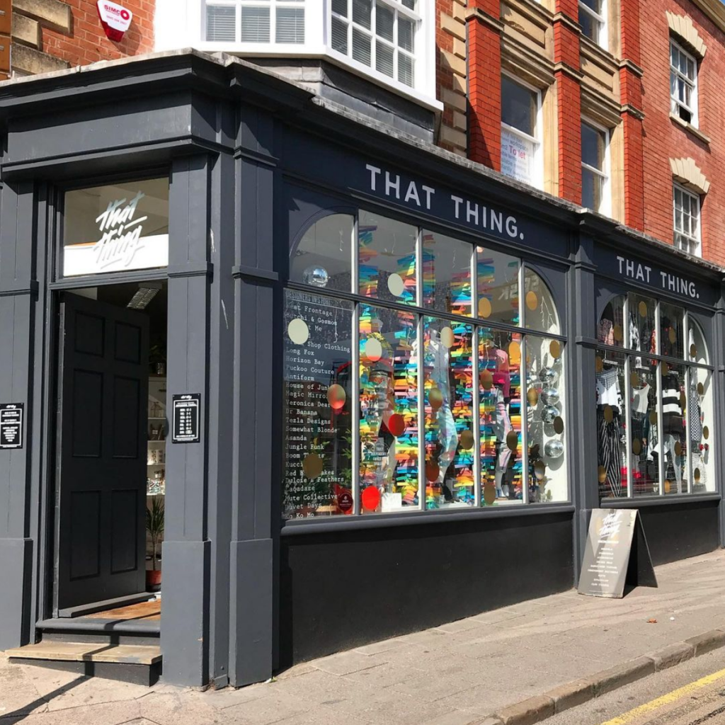 That thing shop front