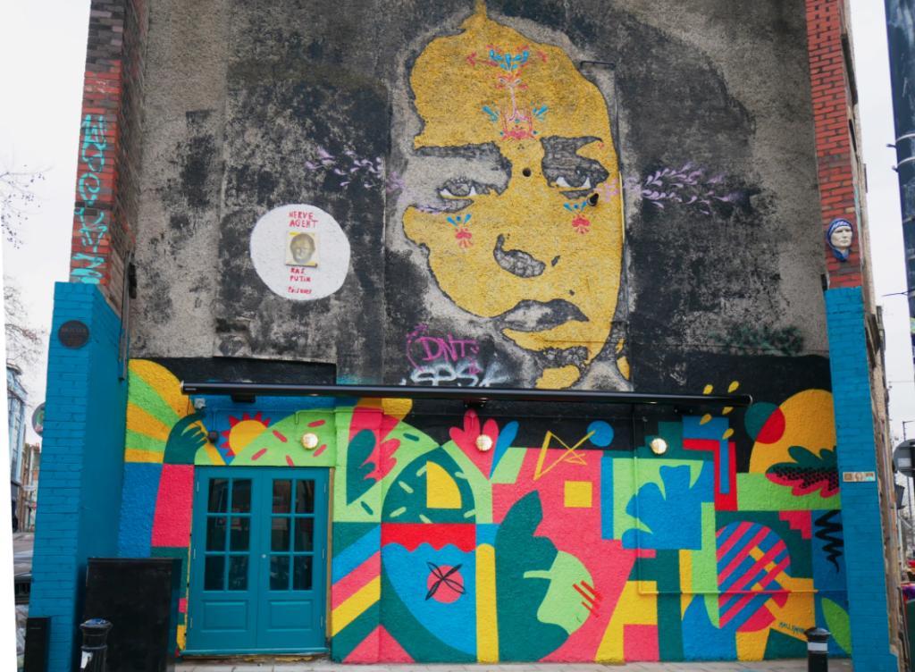 Molly Hawkins mural