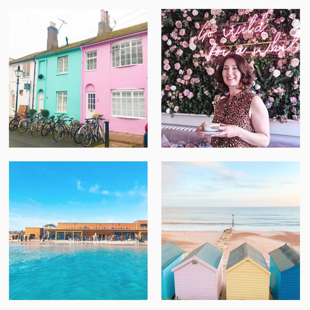 Louisa Chudley, Spark Social, Instagram content