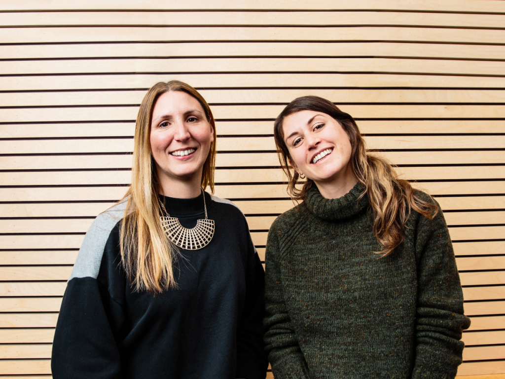 Jessica and Ellie, founders of Twelve