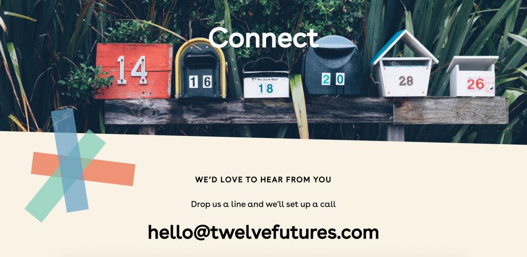 Twelve website by Pixelfish