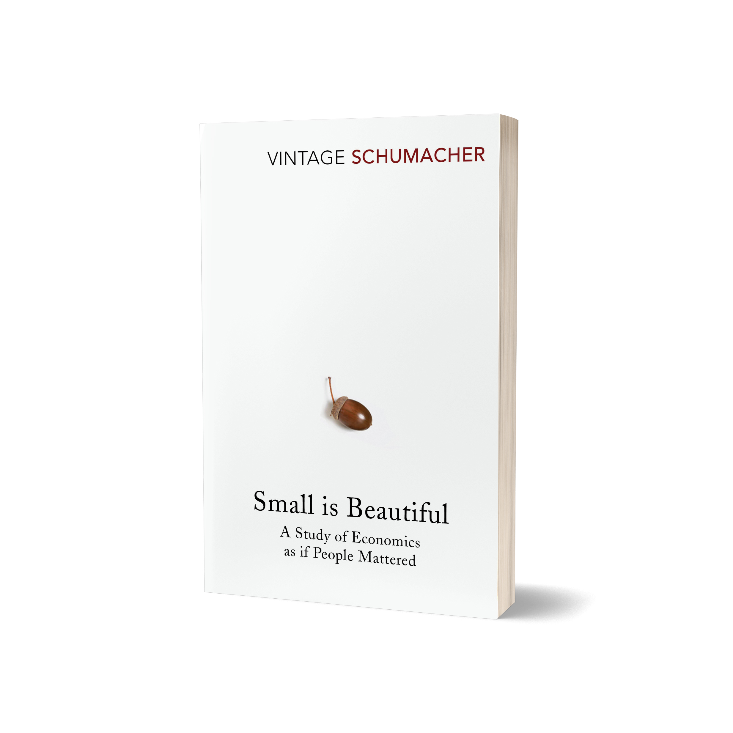 Small is Beautiful: Economics as if People Mattered, E.F Schumacher