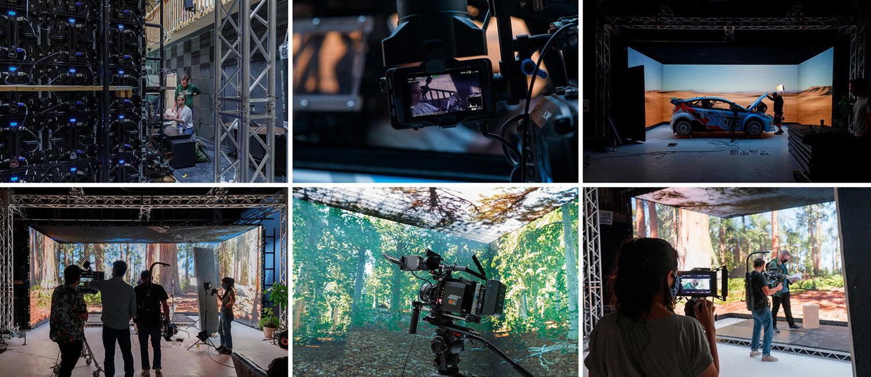 Vero behind the scenes - realtime virtual production