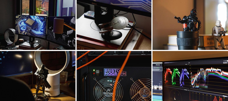 Bristol Mograph studio detail shots