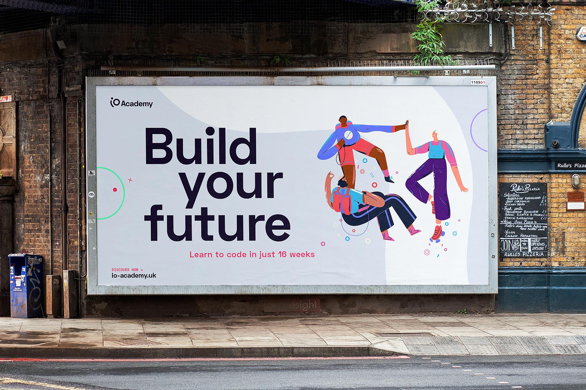 iO Academy Billboard