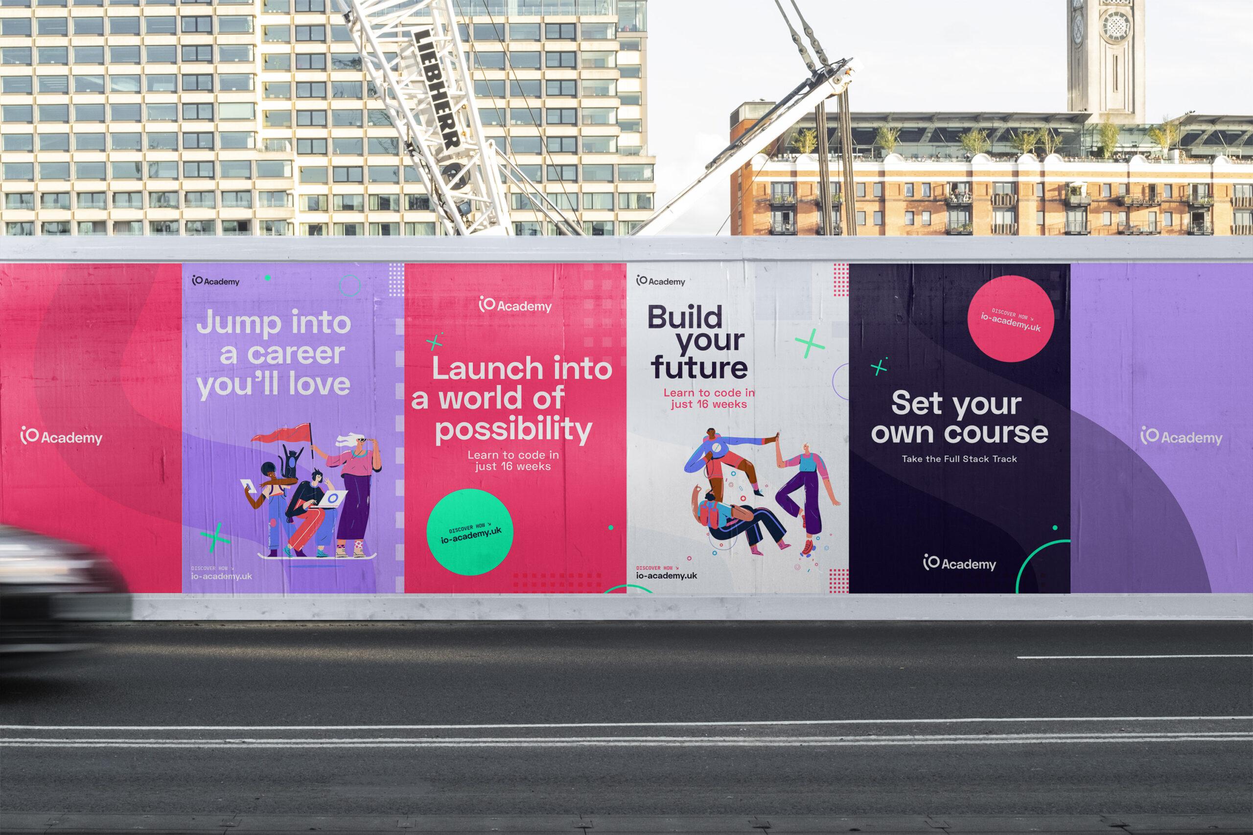 iO Academy Billboards