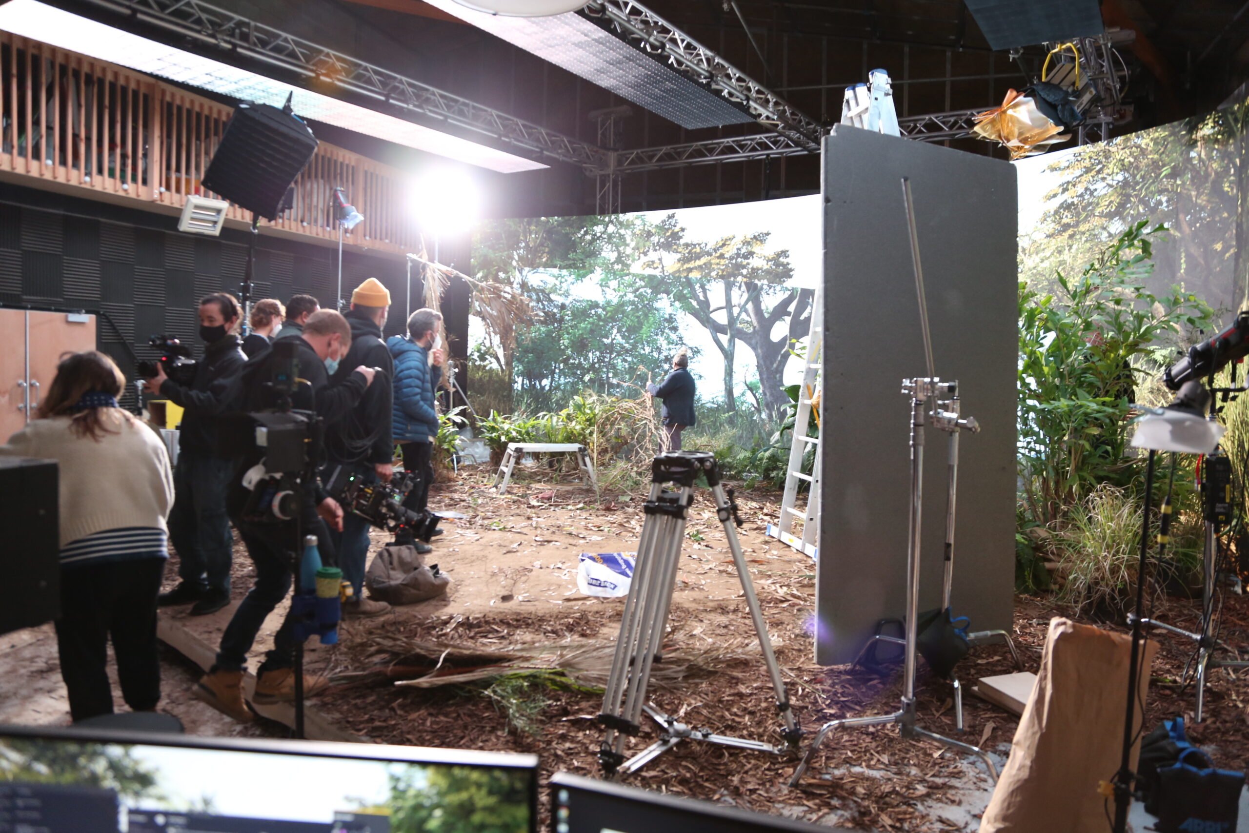 Vero behind the scenes image