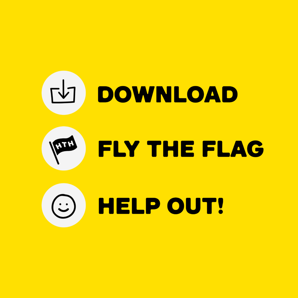 download, fly the flag, help out!